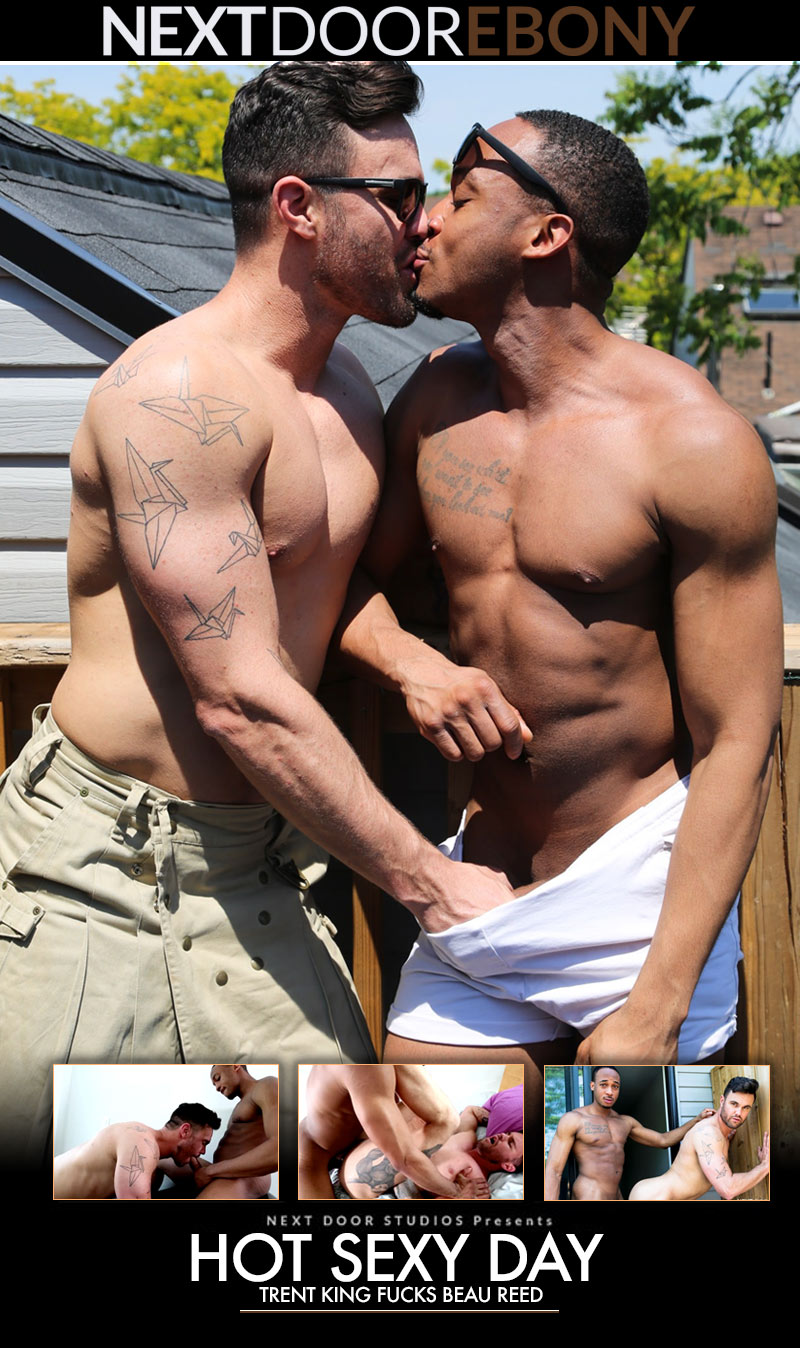 Hot Sexy Day (Trent King Fucks Beau Reed) at NextDoorEbony