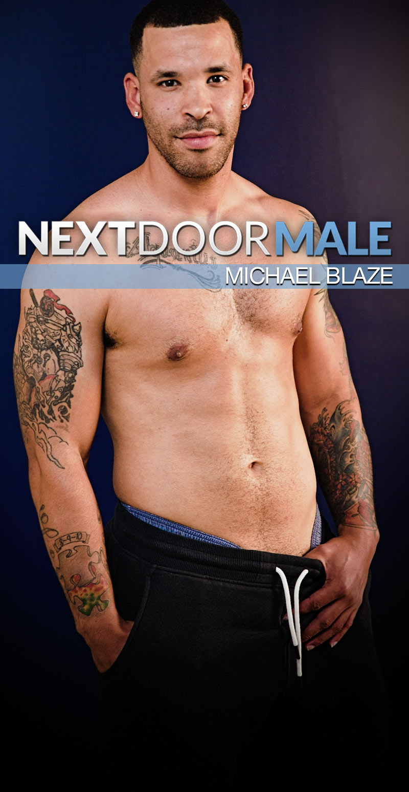 Michael Blaze at Next Door Male