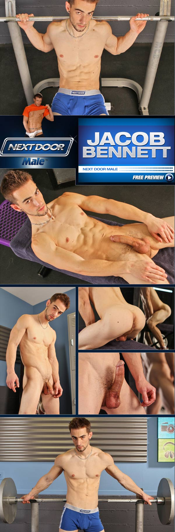 Jacob Bennett (At the Gym) at Next Door Male