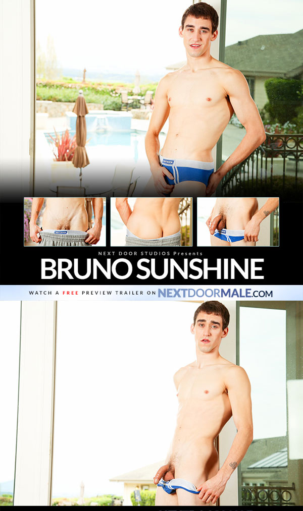 Bruno Sunshine at Next Door Male