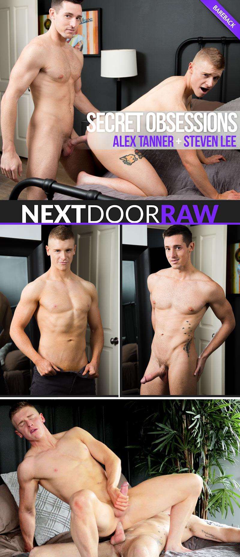 Secret Obsessions (Steven Lee Fucks Alex Tanner) (Bareback) at NextDoorRAW!