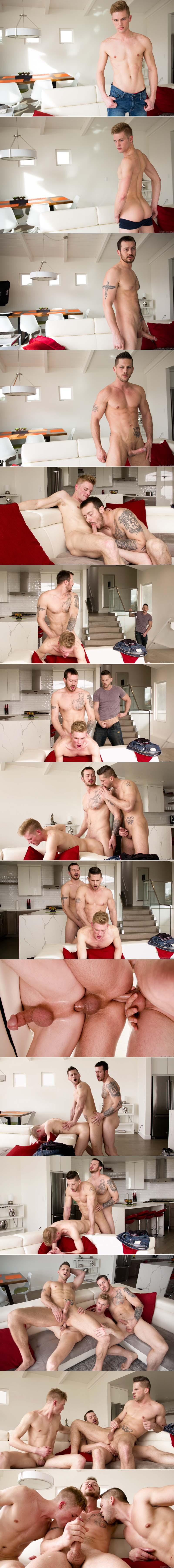 Brothers Share (Mark Long, Roman Todd and Ty Thomas) at NextDoorRAW!