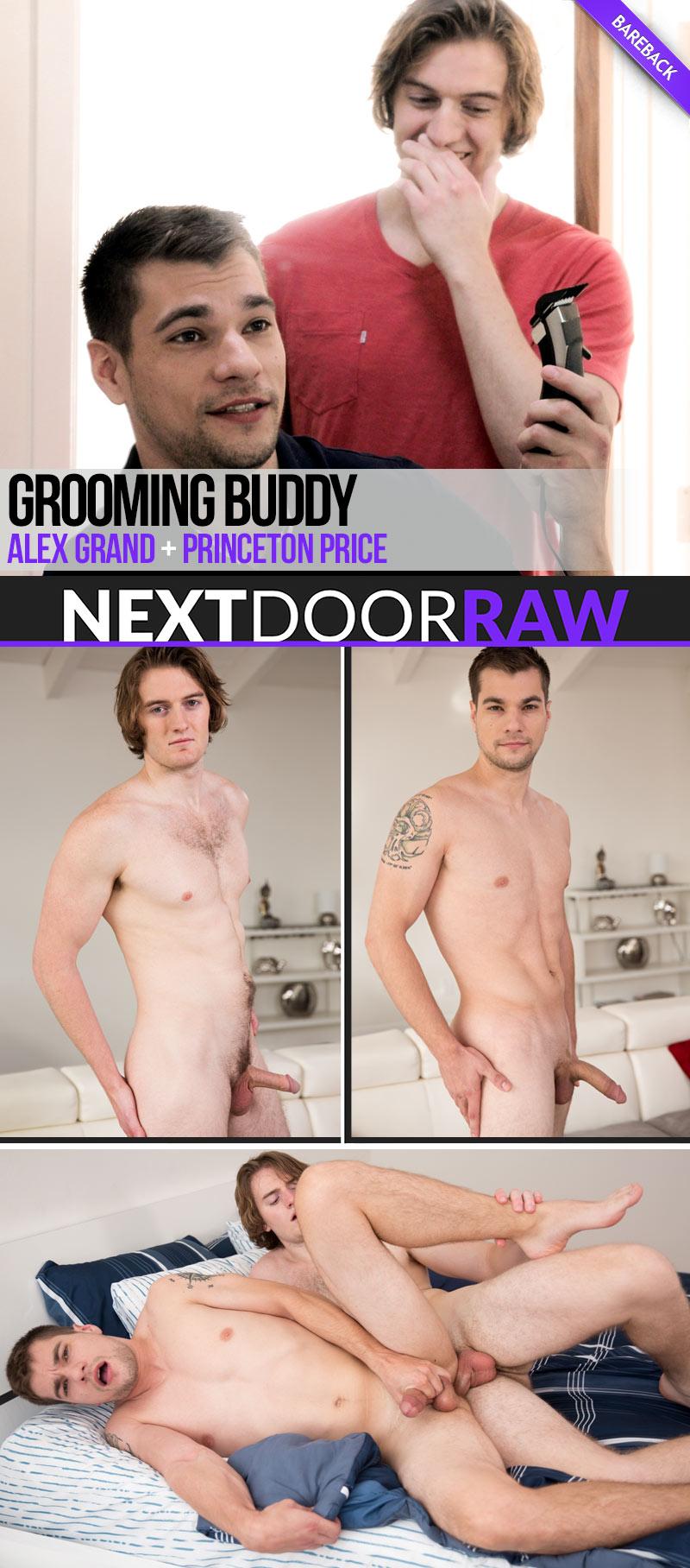 Grooming Buddy (Alex Grand Fucks Princeton Price) at NextDoorRAW!