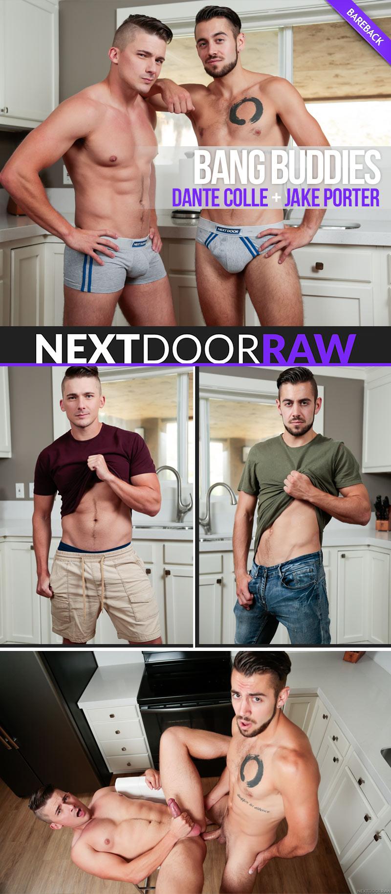 Bang Buddies (Dante Colle Fucks Jake Porter) at NextDoorRAW!