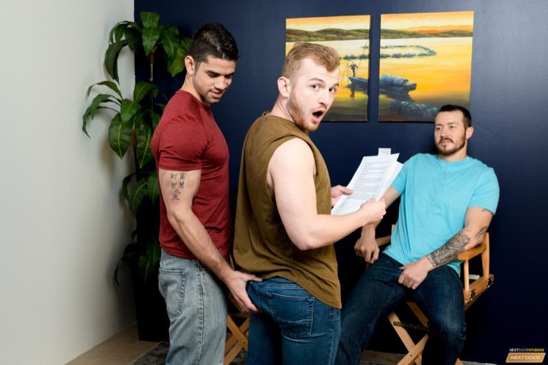 Loose Up Audition (Mark Long and Jason Richards Tag-Team Archer Hart) (Bareback) at Next Door Studios