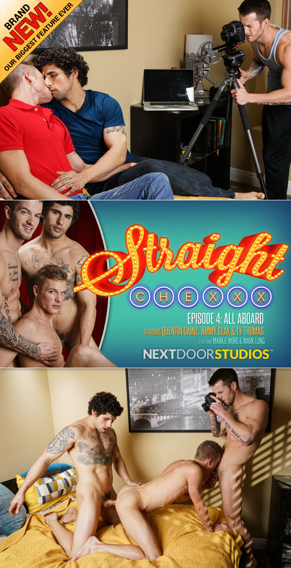Straight Chexxx: All Aboard! (Jimmy Clay, Quentin Gainz & Ty Thomas) (Episode 4) at Next Door Studios