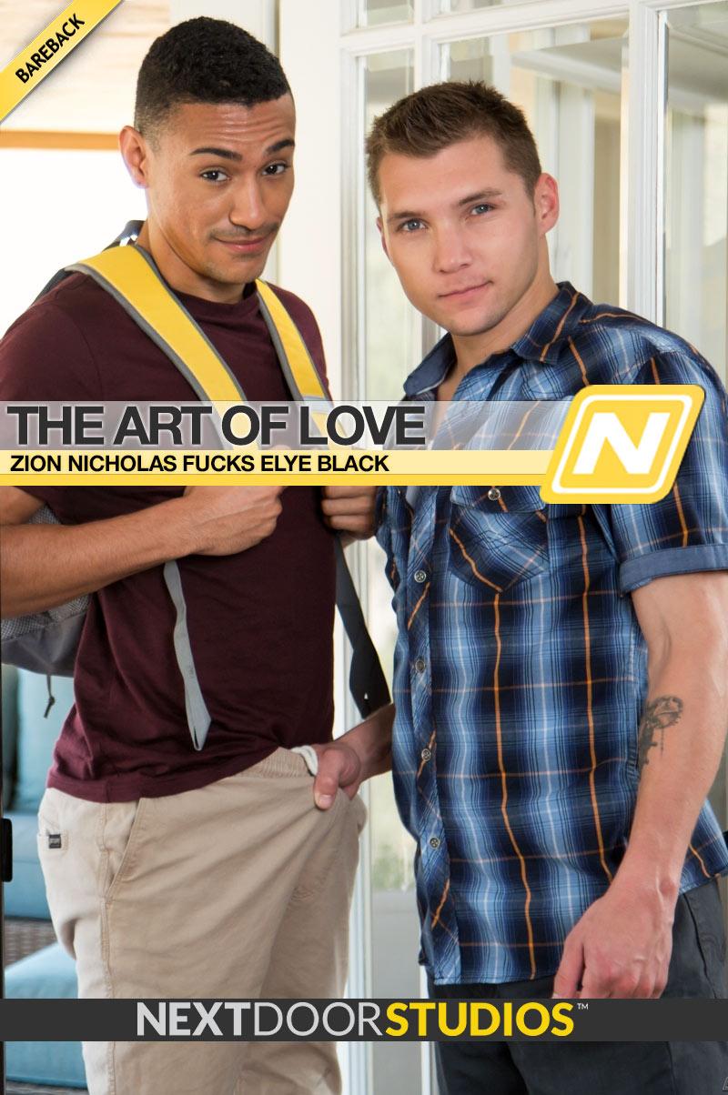 The Art Of Love, Part Two (Zion Nicholas Fucks Elye Black) at NextDoorRAW!