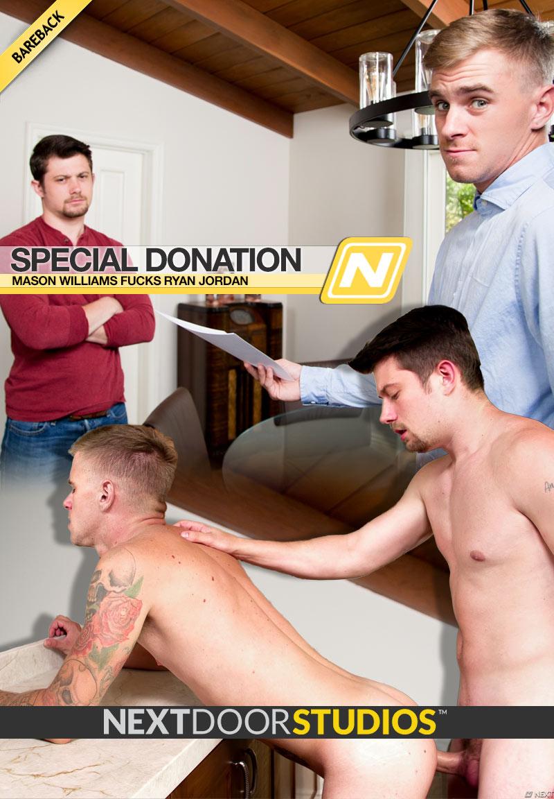 Special Donation (Mason Williams Fucks Ryan Jordan) (Bareback) at Next Door Studios
