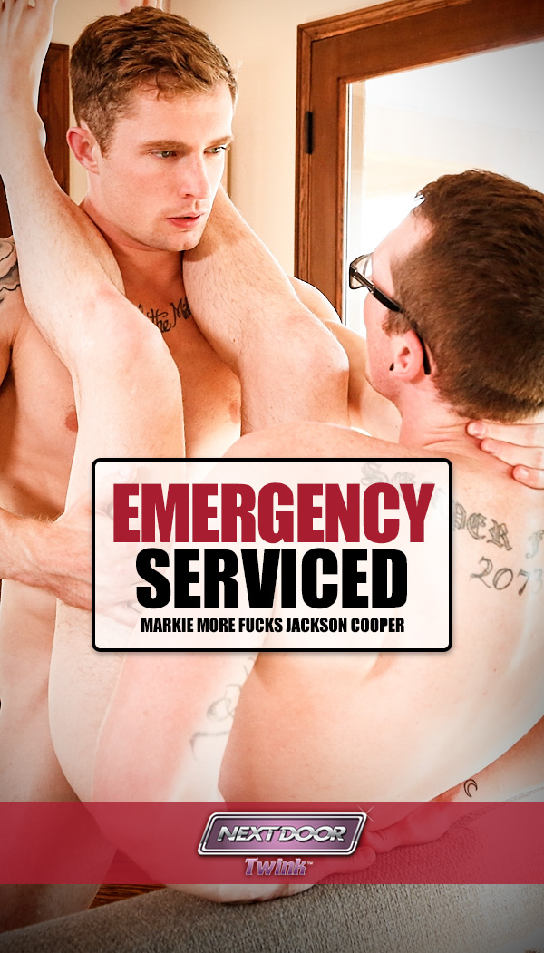 Emergency Serviced (Markie More Fucks Jackson Cooper) at Next Door Twink