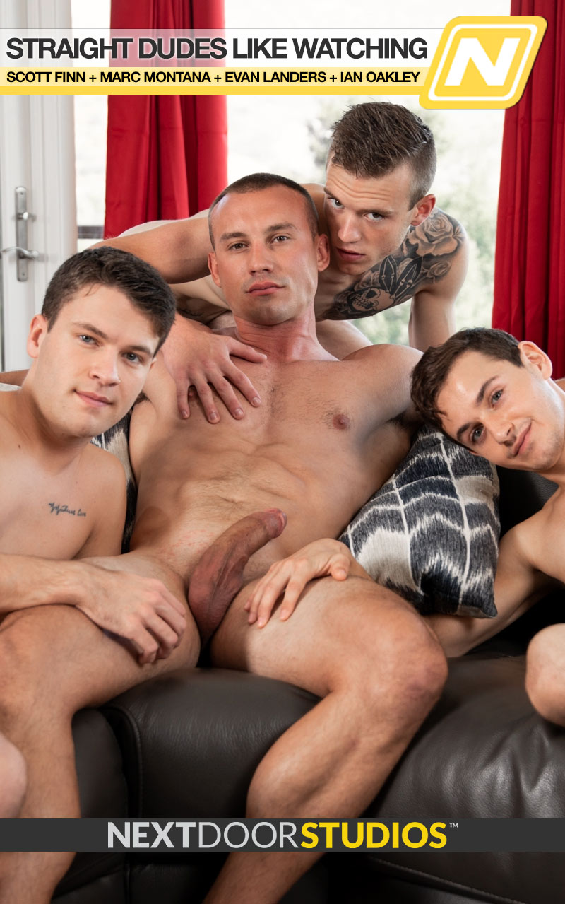 Straight Dudes Like Watching (Scott Finn, Marc Montana, Evan Landers and Ian Oakley) at Next Door Twink