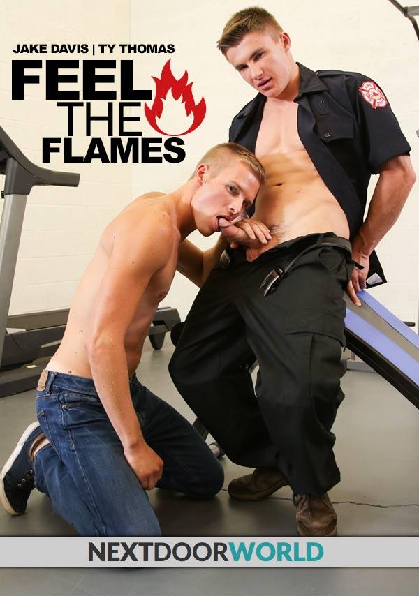 Feel The Flames (Jake Davis Fucks Ty Thomas) at Next Door World