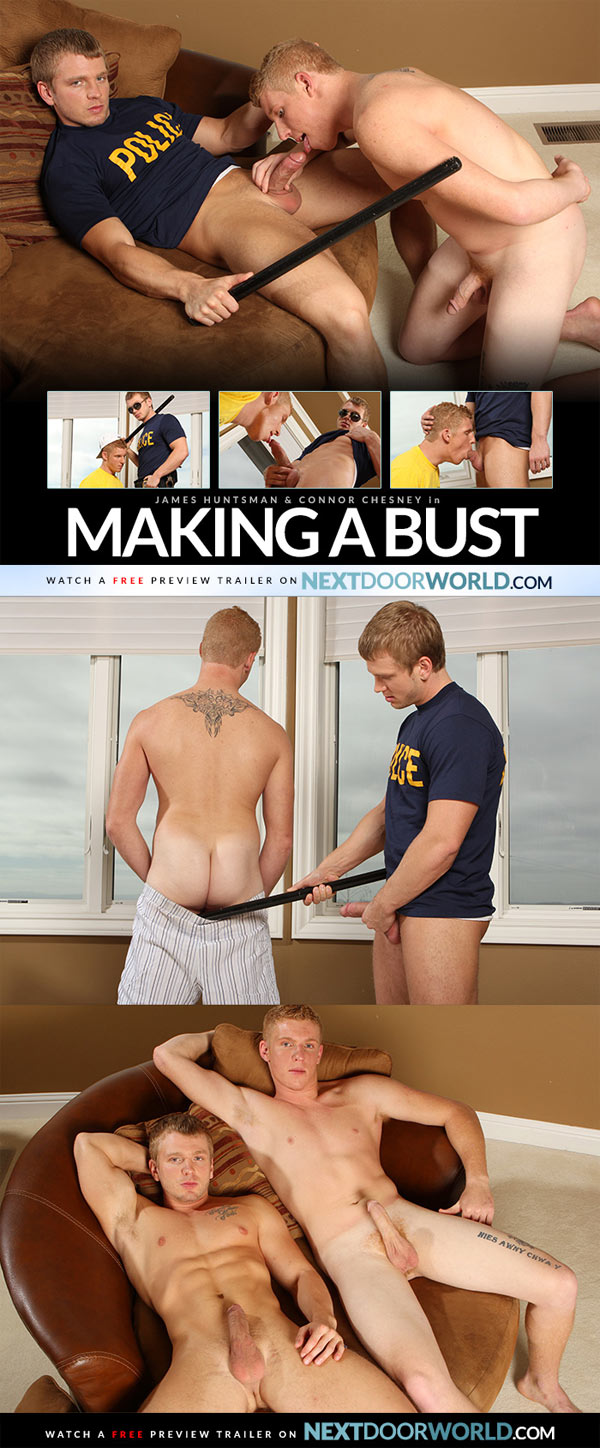Making a Bust (James Huntsman & Connor Chesney) at Next Door World