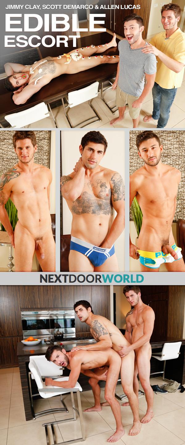Edible Escort (Jimmy Clay, Scott Demarco & Allen Lucas) at Next Door World
