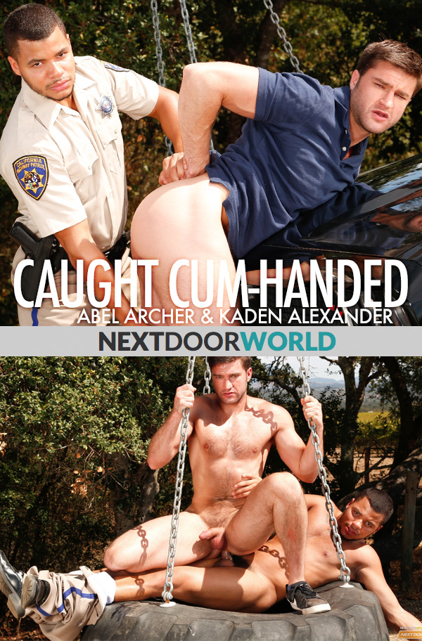 Caught Cum-Handed (Kaden Alexander Fucks Abel Archer) at Next Door World