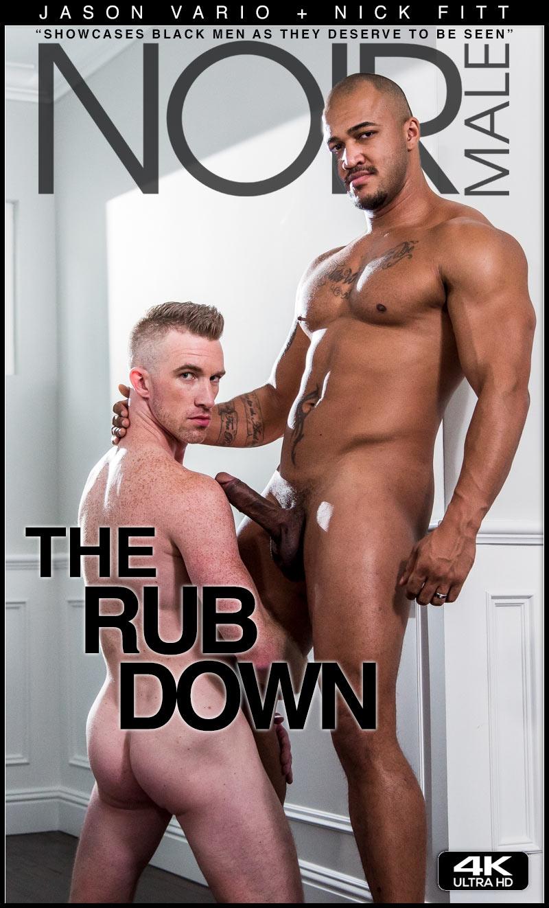 The Rub Down (Jason Vario Fucks Nick Fitt) at Noir Male