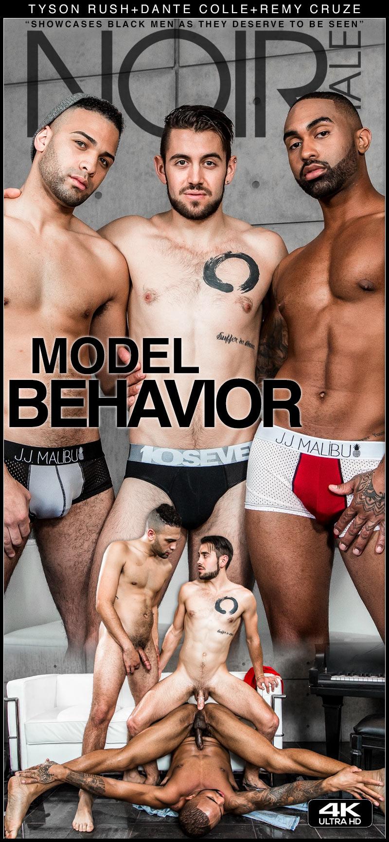 Model Behavior (Dante Colle Fucks Remy Cruze and Tyson Rush) at Noir Male