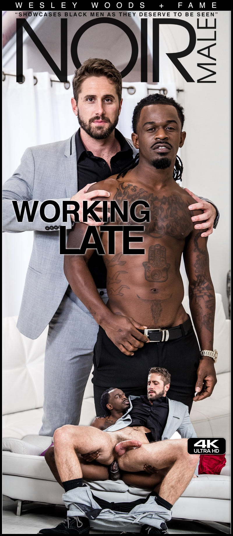 Working Late (Fame Fucks Wesley Woods) at Noir Male