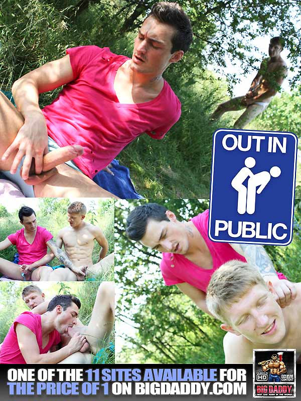 Out For Everyone To See (Stanley Stone & Joseph) (Bareback) at OutInPublic