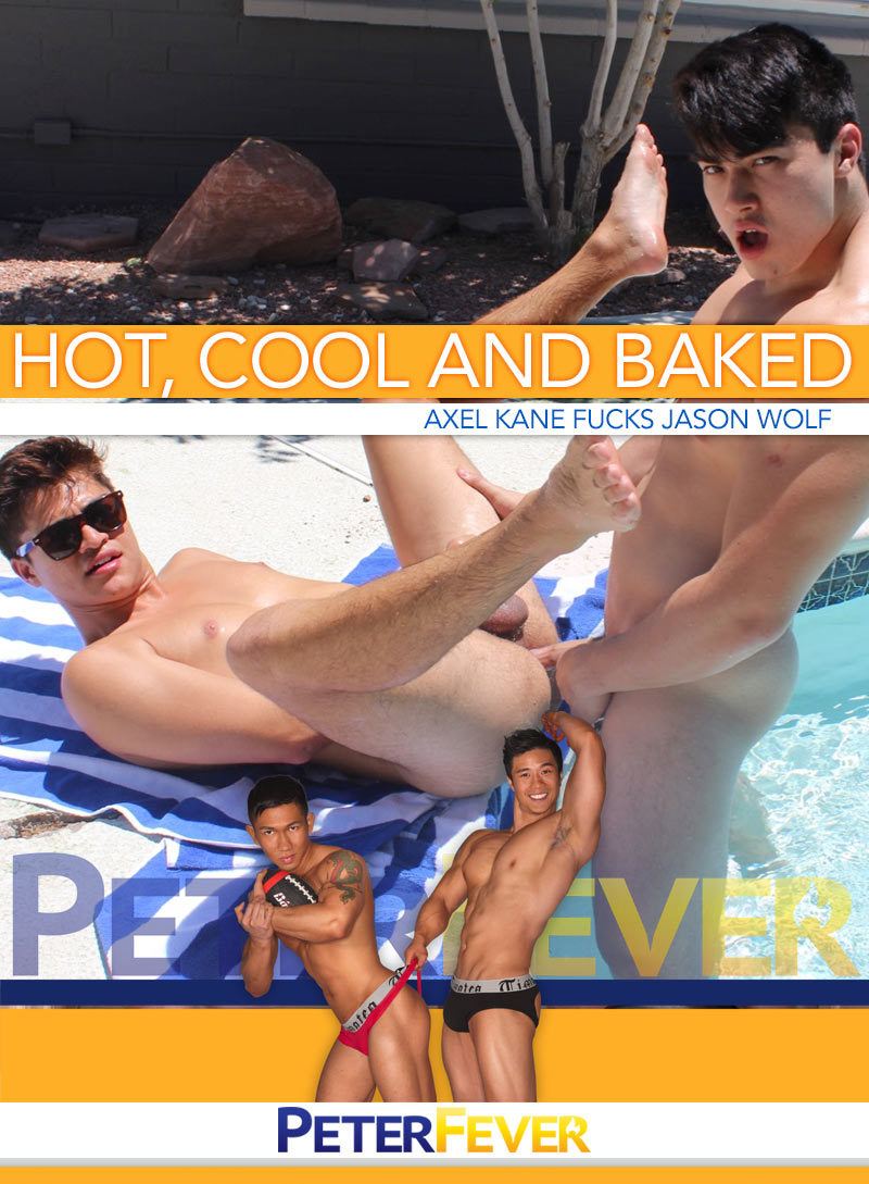 Hot, Cool and Baked (Axel Kane Fucks Jason Wolf) at PeterFever.com