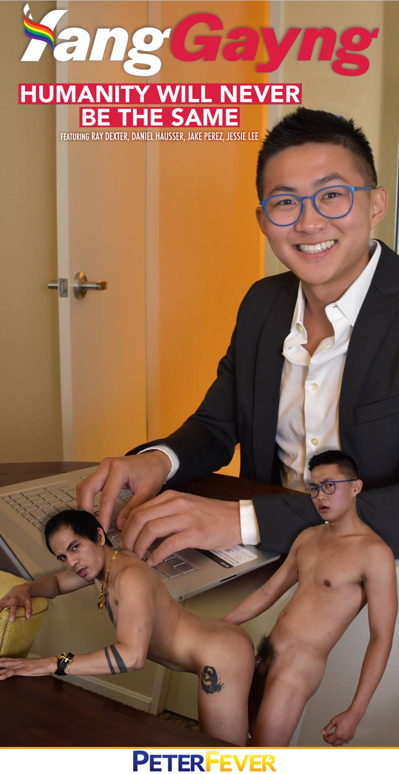 The Yang Gayng: THE FREECUM DIVIDEND, Episode One (Ray Dexter Fucks Jake Perez) at PeterFever.com