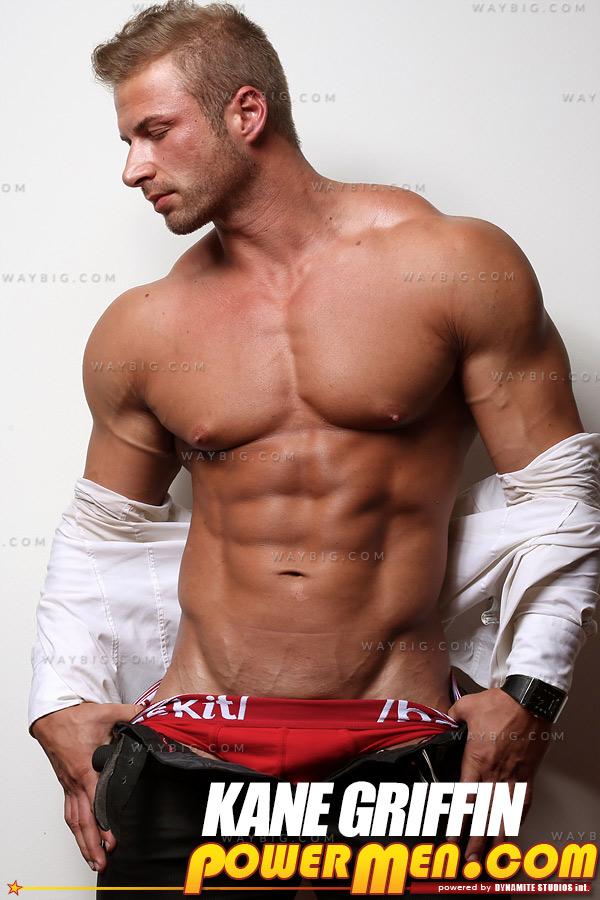 Kane Griffin (Blond Muscle) at PowerMen.com