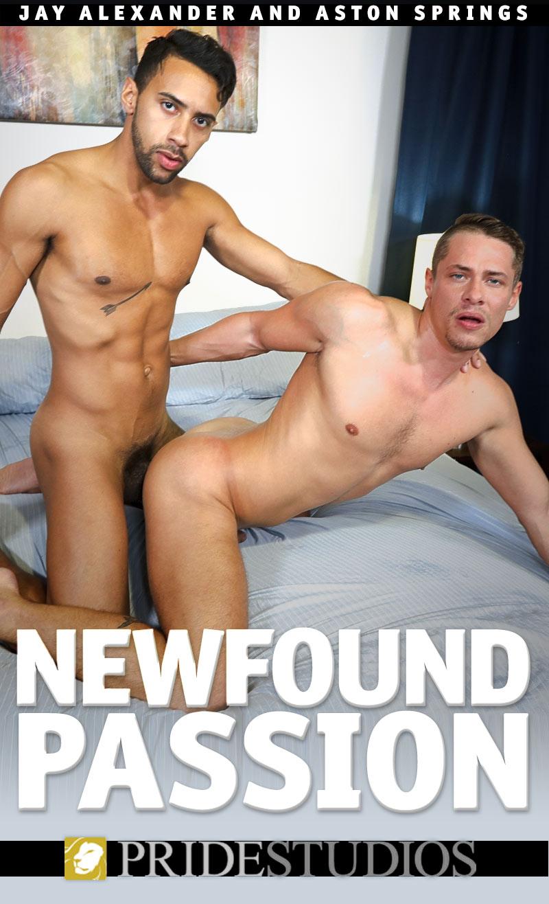 Newfound Passion (Jay Alexander Fucks Aston Springs) at PrideStudios