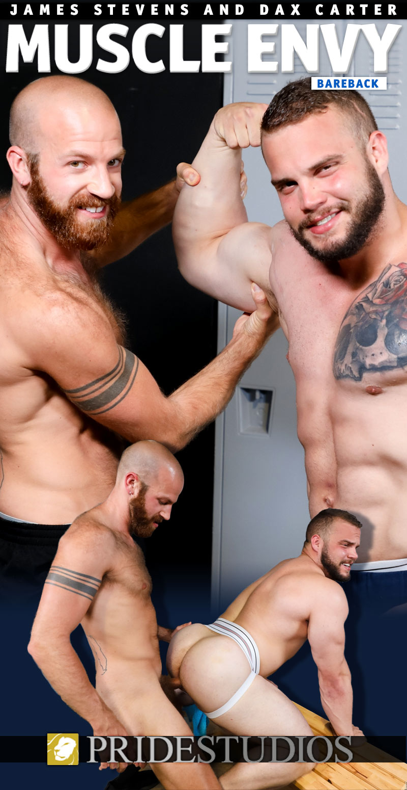 Muscle Envy (James Stevens Fucks Dax Carter) at PrideStudios