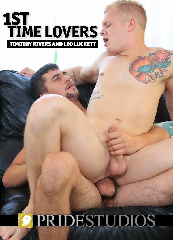 1st Time Lovers (Timothy Rivers Fucks Leo Luckett) at PrideStudios