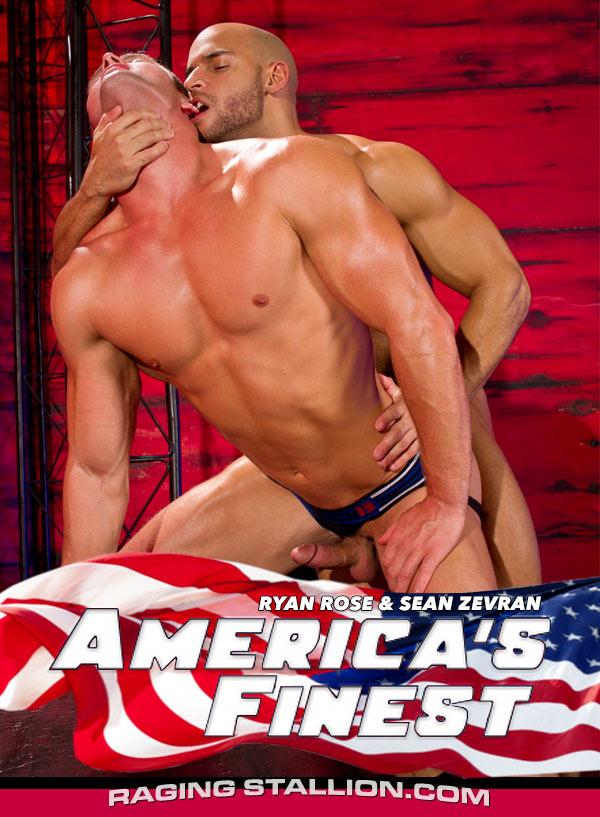 America's Finest (Ryan Rose & Sean Zevran) (Scene 4) at Raging Stallion