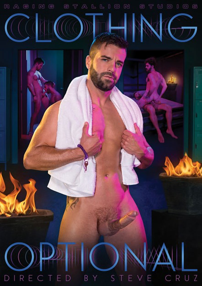 Clothing Optional, Scene 5 (Hector de Silva and Kurtis Wolfe) at Raging Stallion