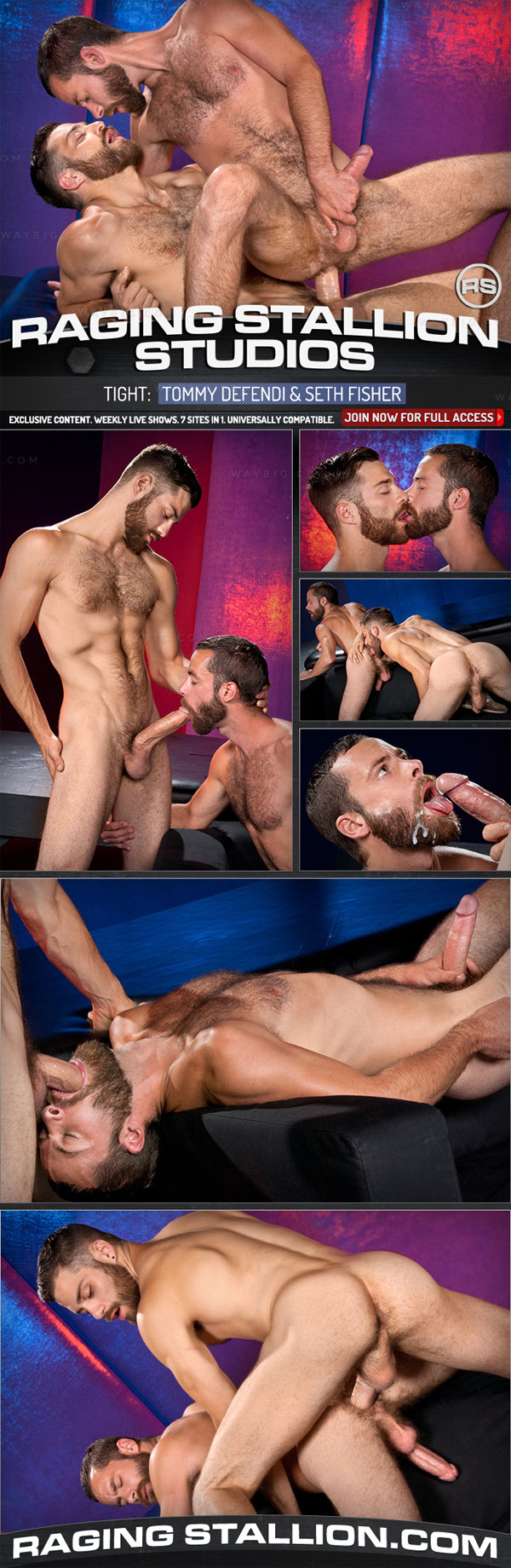 Tight (Tommy Defendi & Seth Fisher) (Scene 3) at Raging Stallion