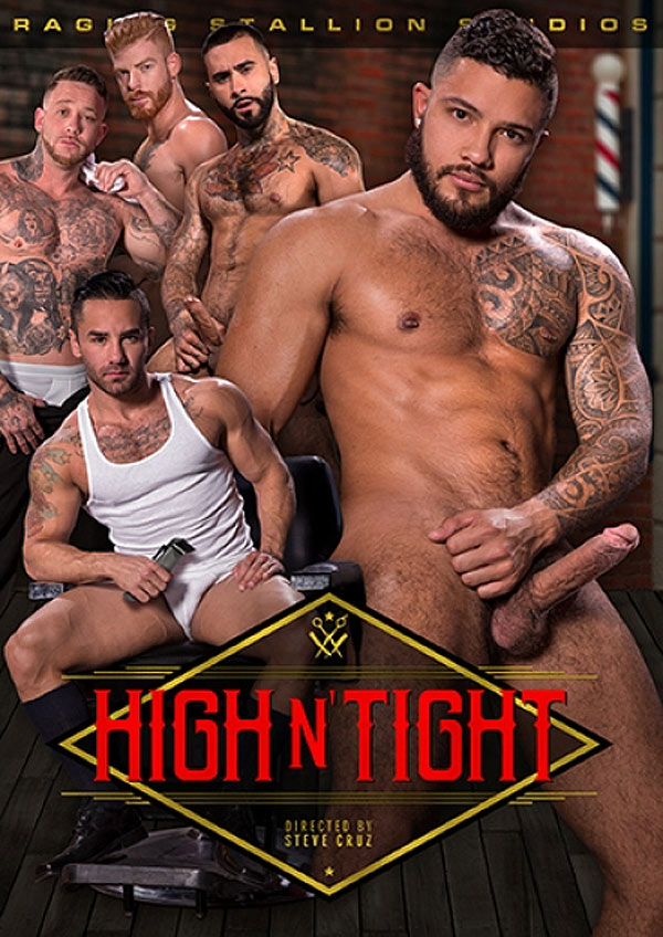 High N' Tight (Gage Unkut Fucks Bennett Anthony) (Scene 4) at Raging Stallion