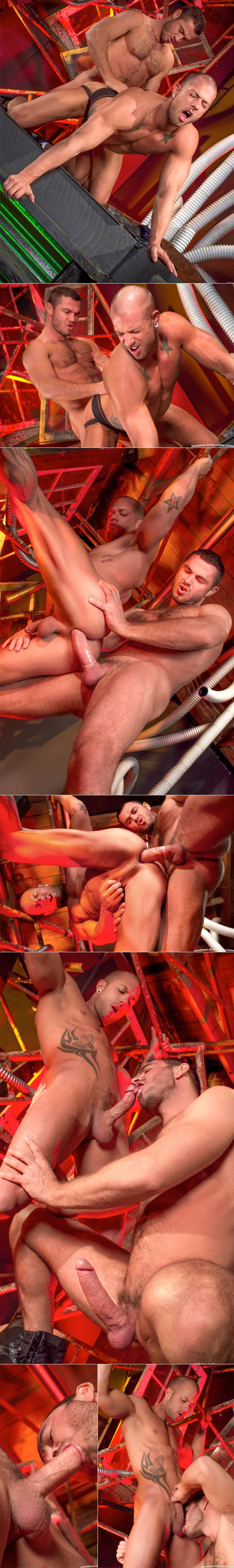 Cock Shot (Jessy Ares & Rod Daily) at Raging Stallion