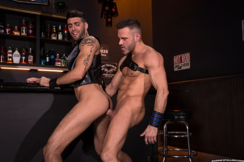 Two Dick Minimum (Mick Stallone and Manuel Skye Flip-Fuck) (Scene 1) at Raging Stallion