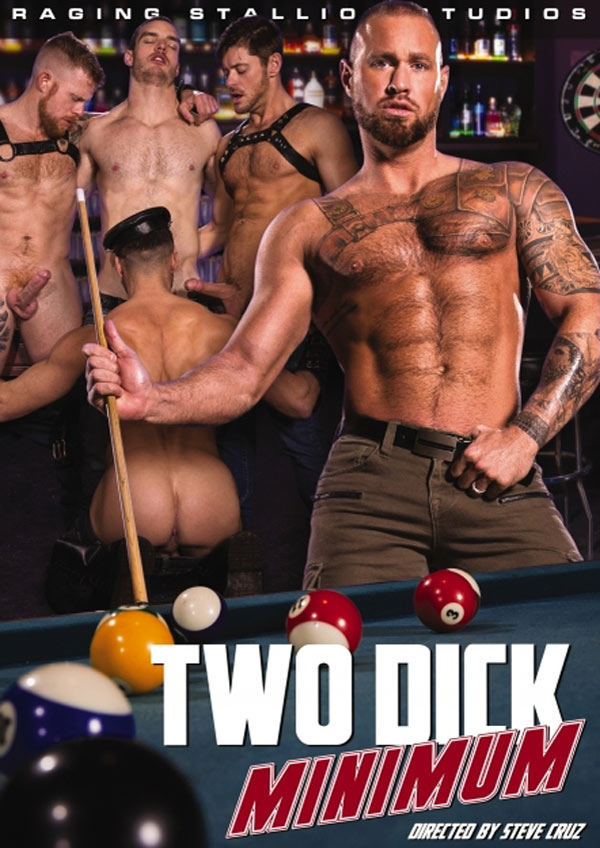 Two Dick Minimum (Michael Roman Fucks Jack Andy) (Scene 2) at Raging Stallion