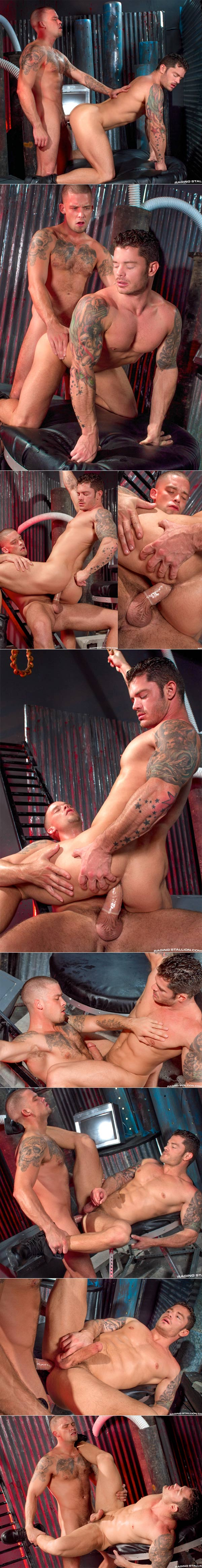 Cock Tease (Caleb Colton & Mitchell Rock) at Raging Stallion