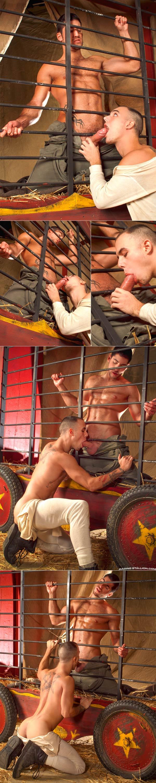 Behind The Big Top (Leo Domenico & Genesis Luna) at Raging Stallion