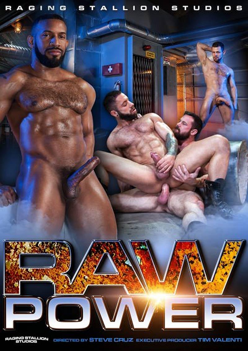 RAW POWER, Scene 1 (Eddy Ceetee and Kurtis Wolfe Flip-Fuck) at Raging Stallion