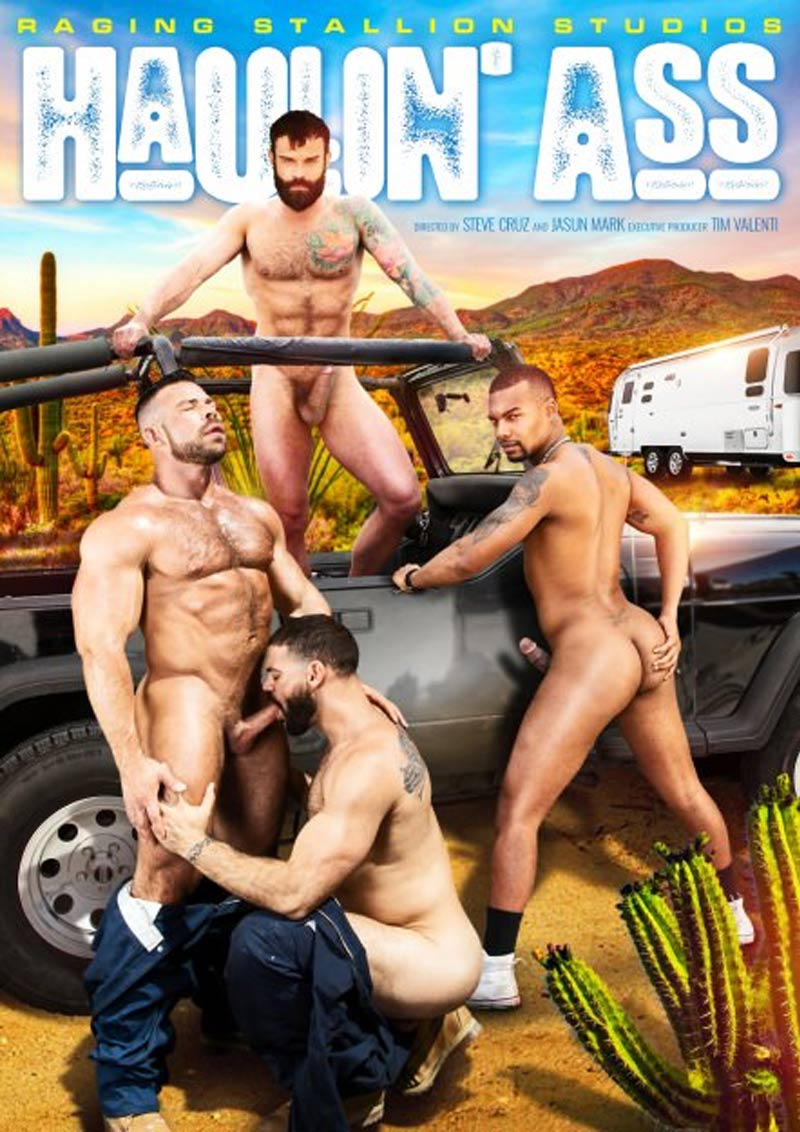 Haulin' Ass, Scene Four (Ricky Larkin and Liam Knox) at Raging Stallion