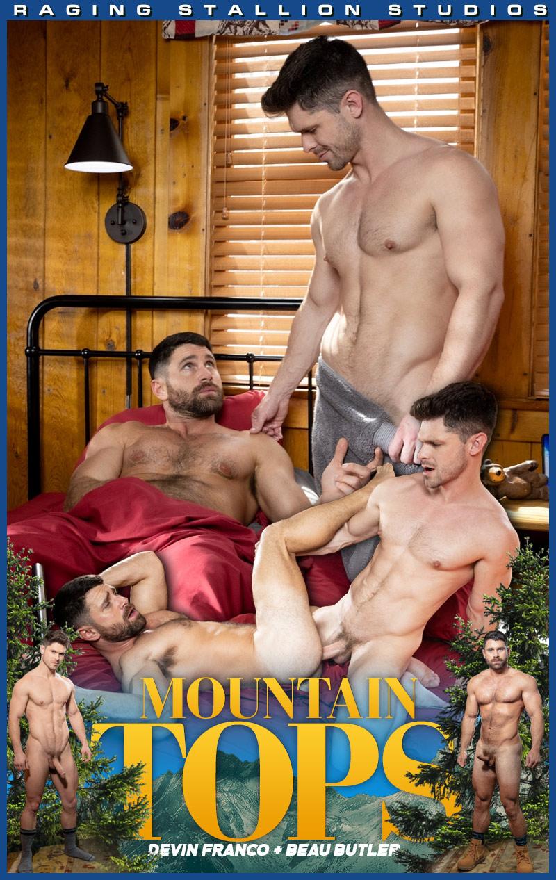 MOUNTAIN TOPS, Scene 4 (Devin Franco Fucks Beau Butler) at Raging Stallion