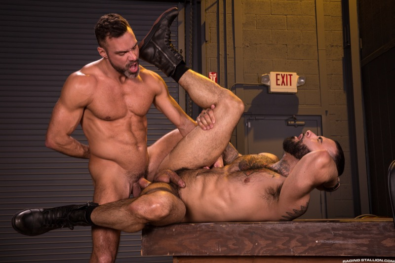 Beards, Bulges & Ballsacks! (Manuel Skye Fucks Rikk York) (Scene 3) at Raging Stallion