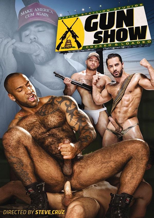 Gun Show (Jaxton Wheeler & Sean Duran) (Scene 4) at Raging Stallion
