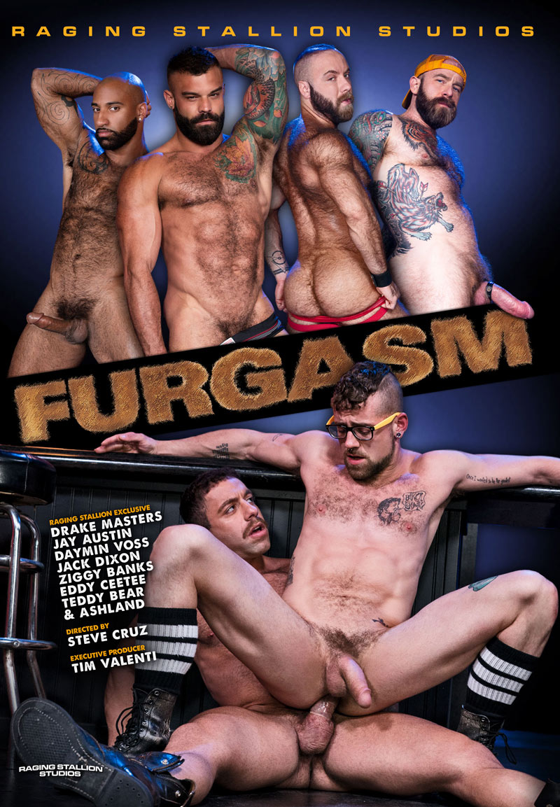 FURGASM, Scene One (Daymin Voss and Drake Masters Flip-Fuck) at Raging Stallion