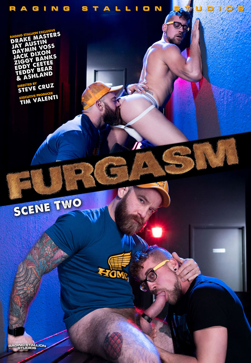 FURGASM, Scene Two (Jay Austin and Jack Dixon) at Raging Stallion