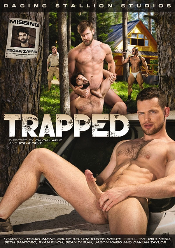 Trapped (Kurtis Wolfe Fucks Tegan Zayne) (Scene 1) at Raging Stallion