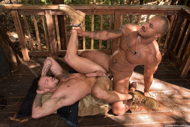Trapped (Jason Vario Fucks Sean Duran) (Scene 3) at Raging Stallion
