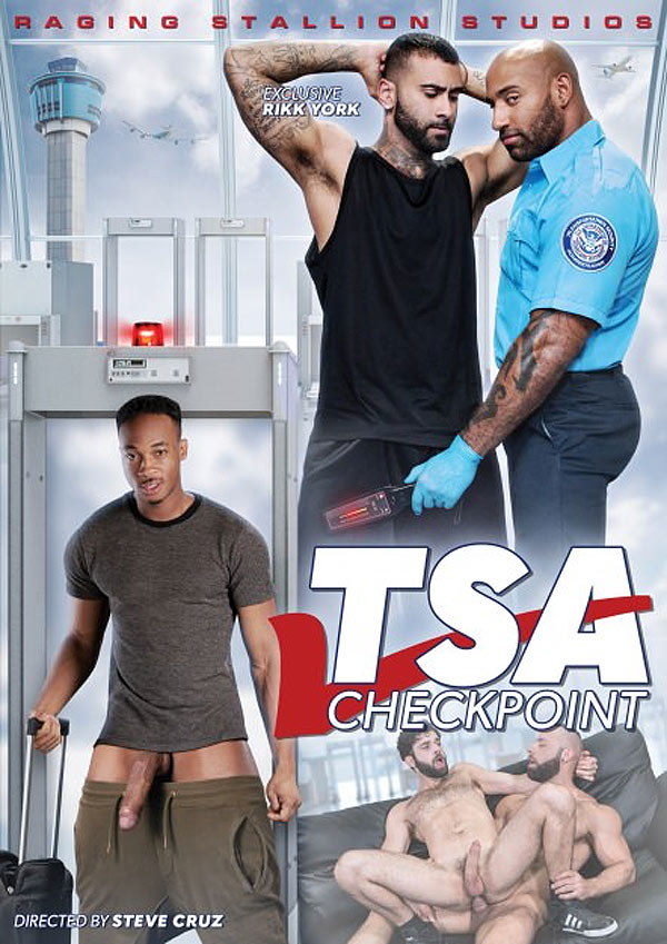 TSA Checkpoint (Rikk York and Daymin Voss Flip-Fuck) (Scene 1) at Raging Stallion