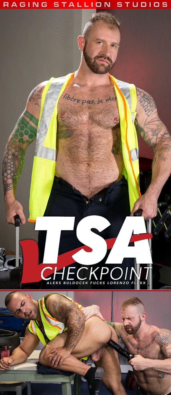 TSA Checkpoint (Aleks Buldocek Fucks Lorenzo Flexx) (Scene 3) at Raging Stallion