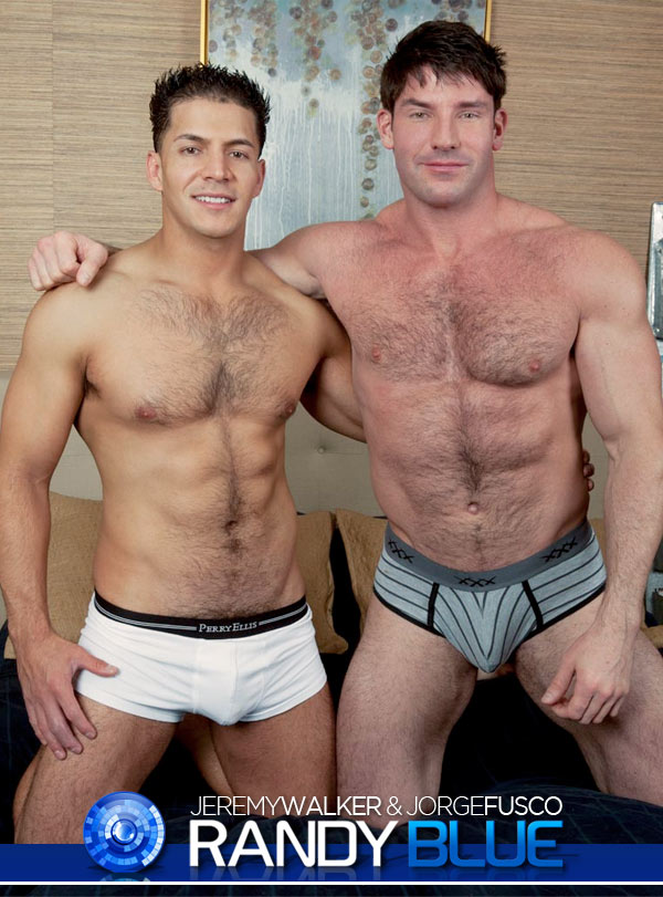 Jeremy Walker & Jorge Fusco at RandyBlue