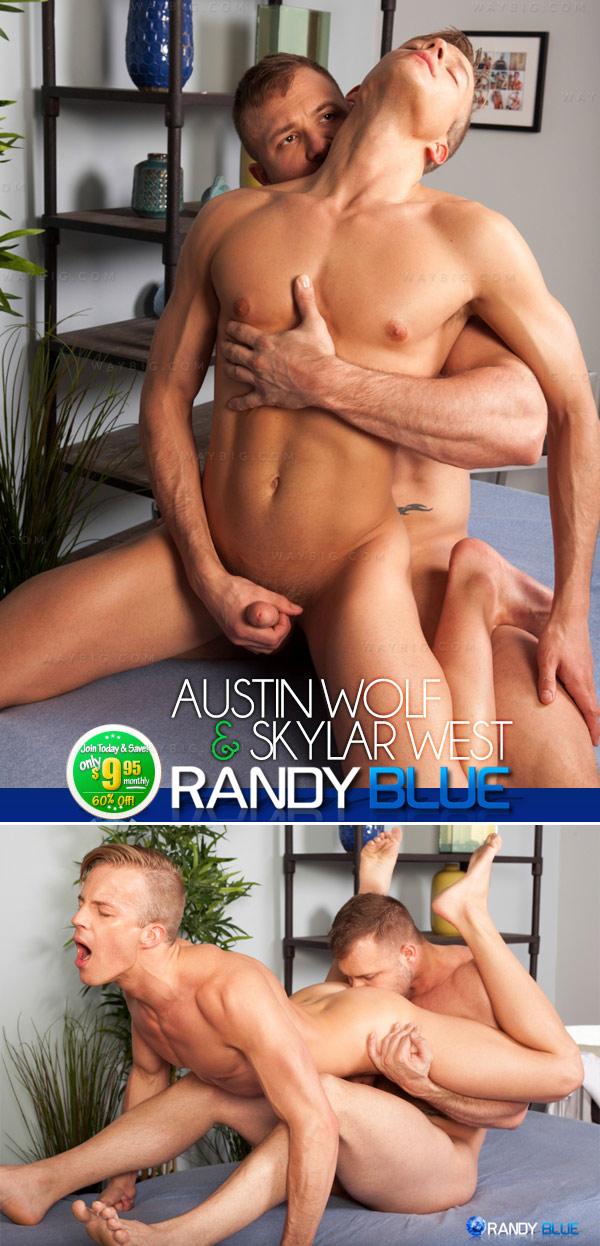 Austin Wolf & Skylar West at RandyBlue